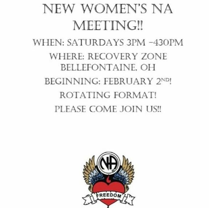 Bellefontaine Women's NA Meetings