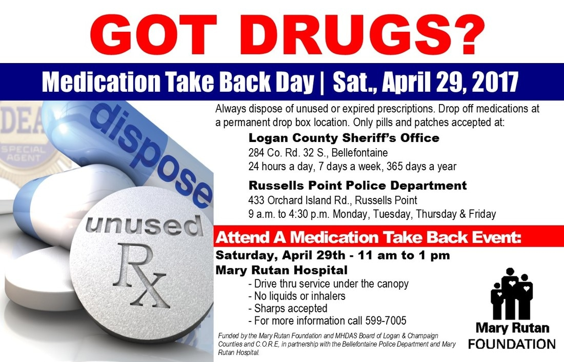 Medication Take Back Day Logan County
