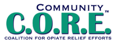 Logan County Community CORE logo
